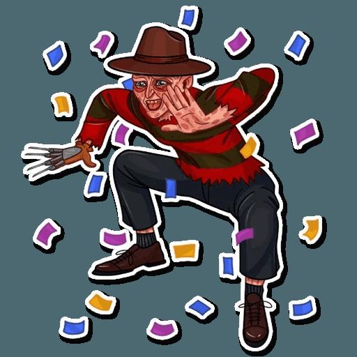 Freddy Krueger - Sticker 22