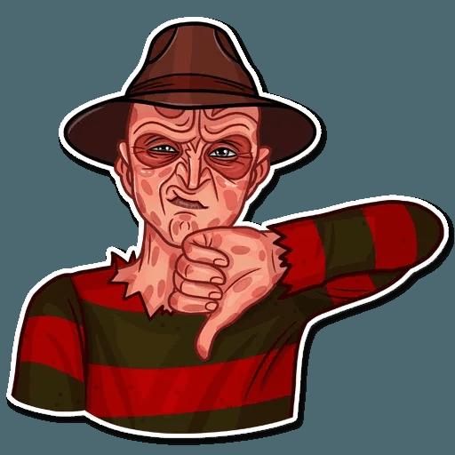 Freddy Krueger - Sticker 12