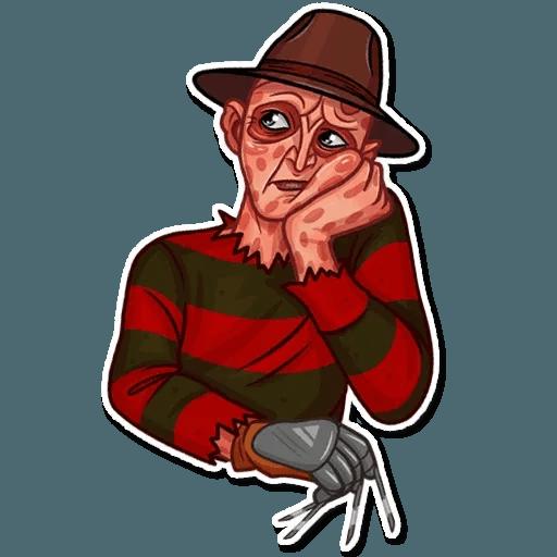 Freddy Krueger - Sticker 11