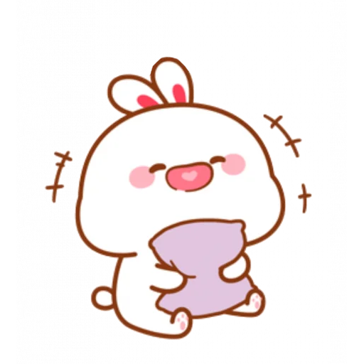 cute rabbit - Sticker 8
