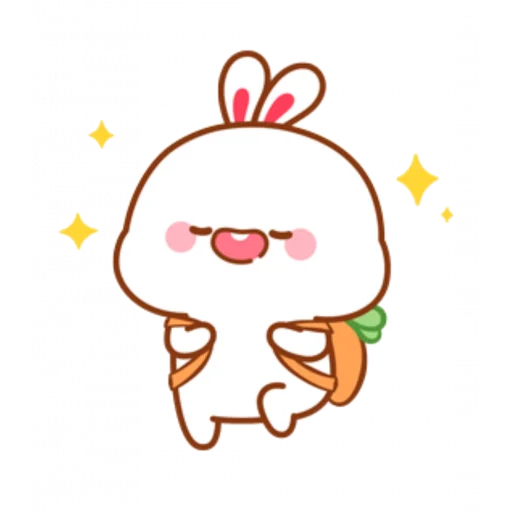 cute rabbit - Sticker 10