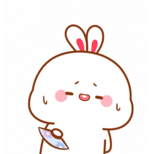 cute rabbit - Sticker 9