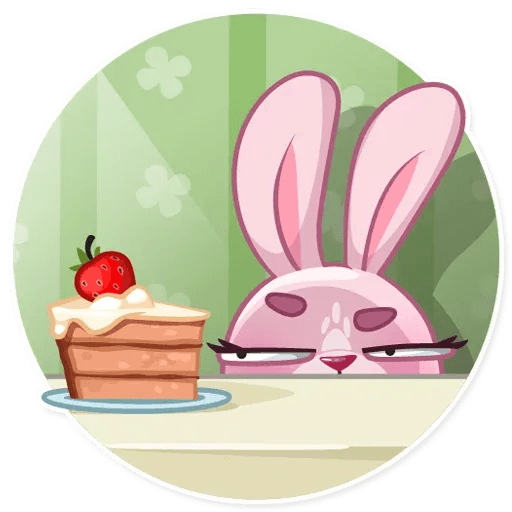 BunnyRosy - Sticker 3