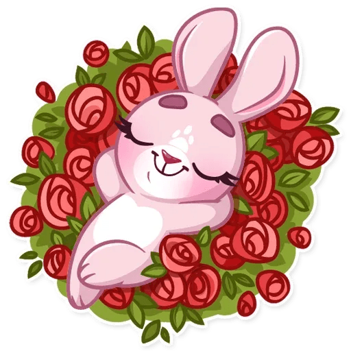 BunnyRosy - Sticker 23