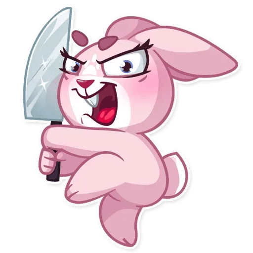 BunnyRosy - Sticker 22
