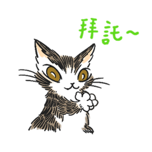 達洋貓-日常篇 - Sticker 16