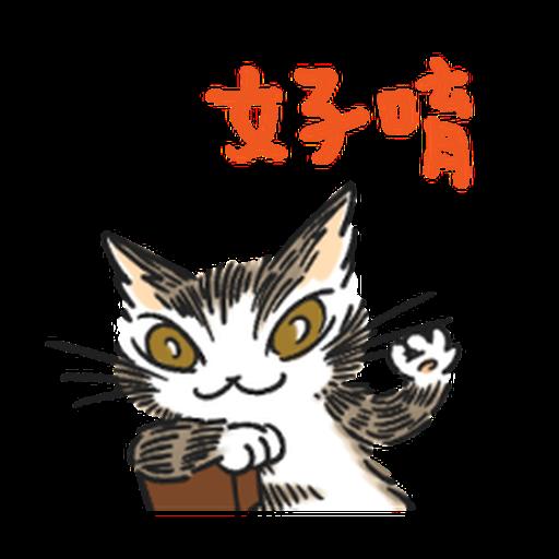 達洋貓-日常篇 - Sticker 8