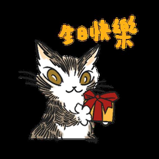 達洋貓-日常篇 - Sticker 18
