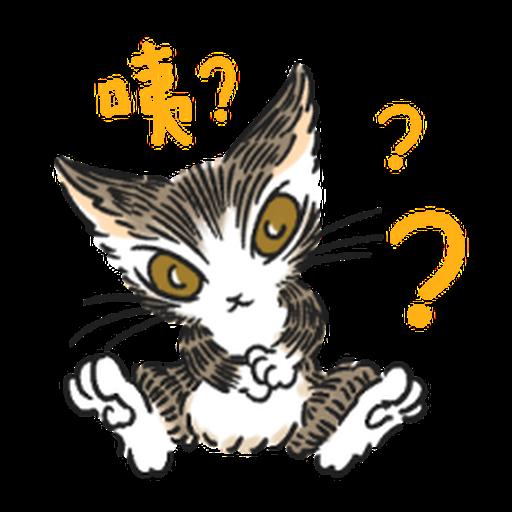 達洋貓-日常篇 - Sticker 6