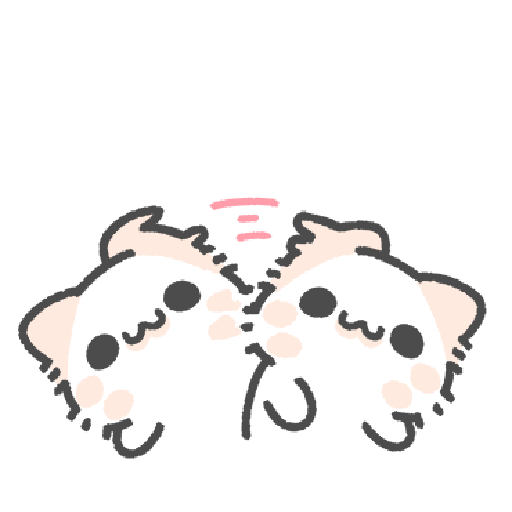 Akunya and Maonya's thank meow stamp 2 - Sticker 17