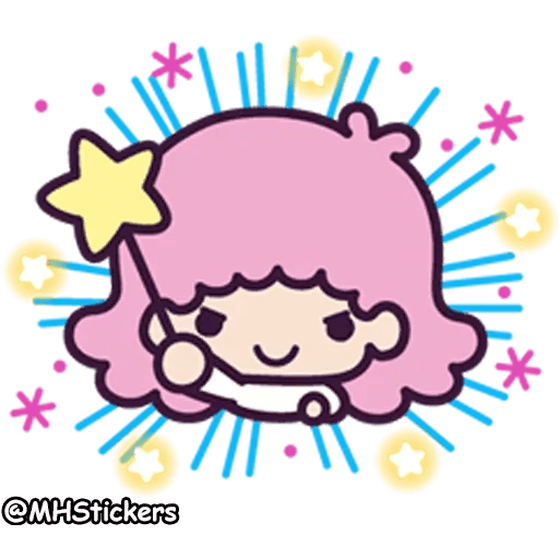 Little twin stars - Sticker 17