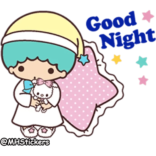 Little twin stars - Sticker 7