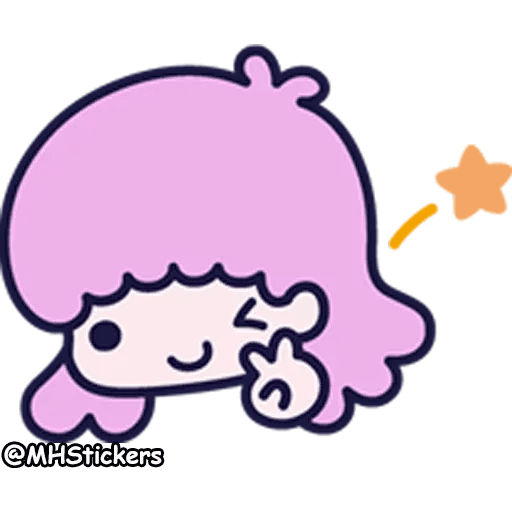 Little twin stars - Sticker 18