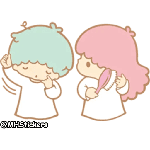 Little twin stars - Sticker 30