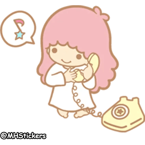 Little twin stars - Sticker 28