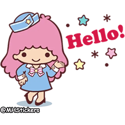 Little twin stars - Sticker 1