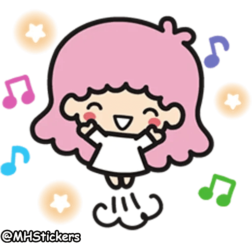 Little twin stars - Sticker 13