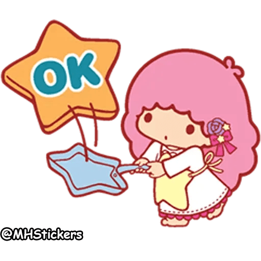 Little twin stars - Sticker 3