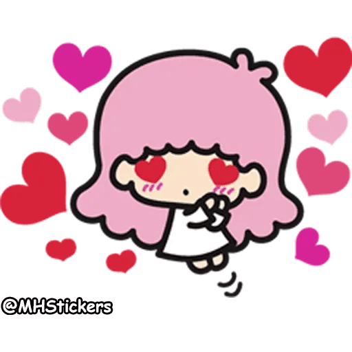 Little twin stars - Sticker 27
