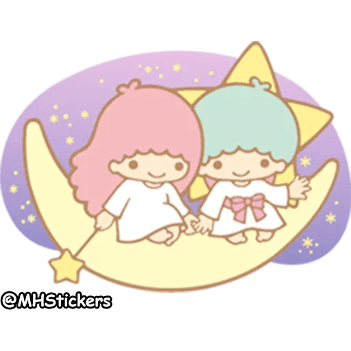 Little twin stars - Sticker 22