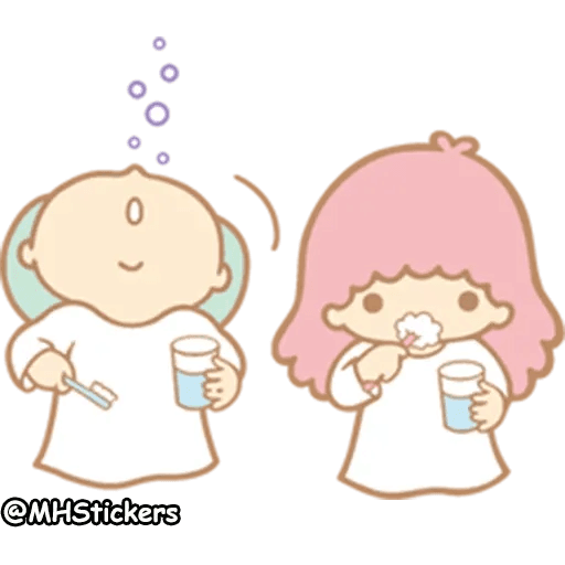 Little twin stars - Sticker 29
