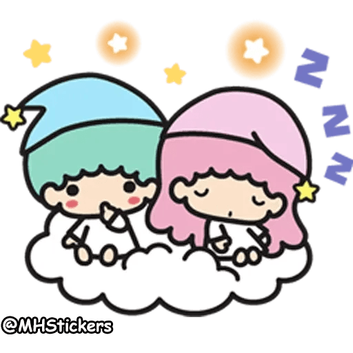 Little twin stars - Sticker 11