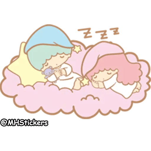 Little twin stars - Sticker 21