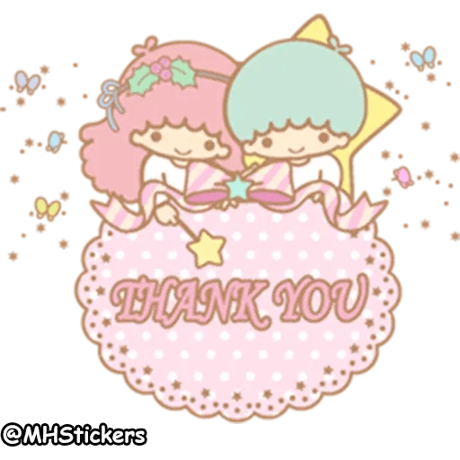 Little twin stars - Sticker 20