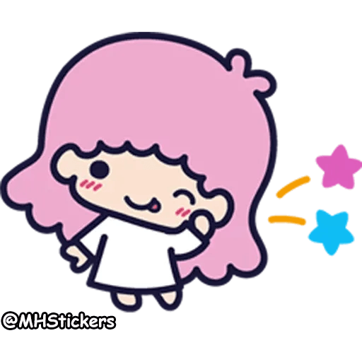 Little twin stars - Sticker 15