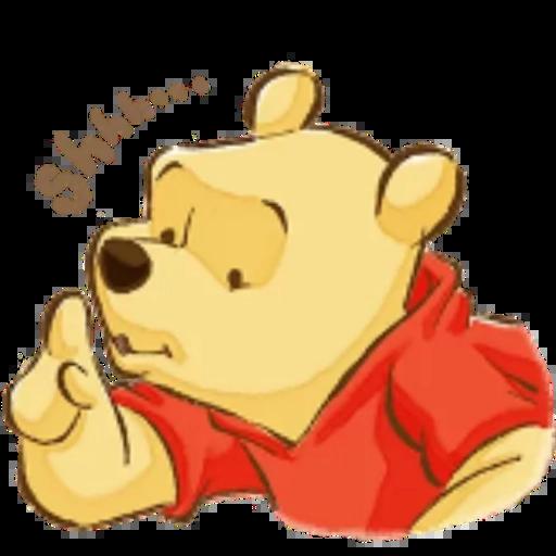 Winnie the Pooh - Sticker 8