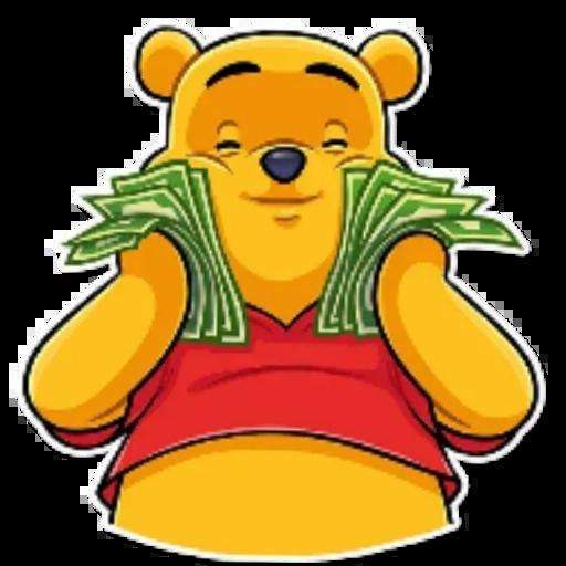 Winnie the Pooh - Tray Sticker