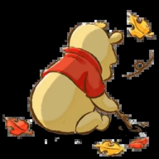 Winnie the Pooh - Sticker 9