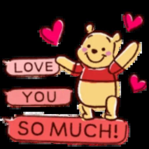 Winnie the Pooh - Sticker 4