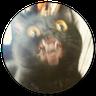 Stupid cats - Tray Sticker