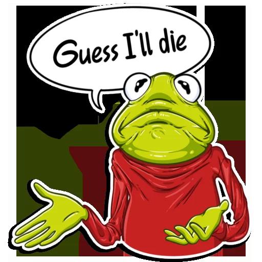 Frog - Sticker 27