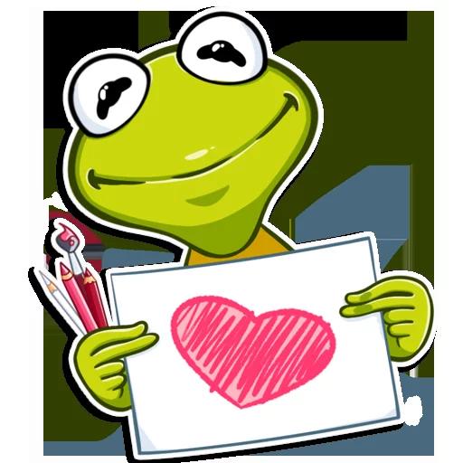 Frog - Sticker 3