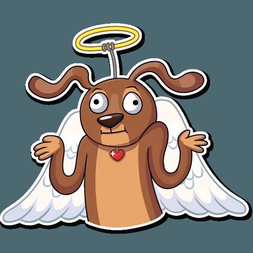 Cupid Dog - Sticker 5