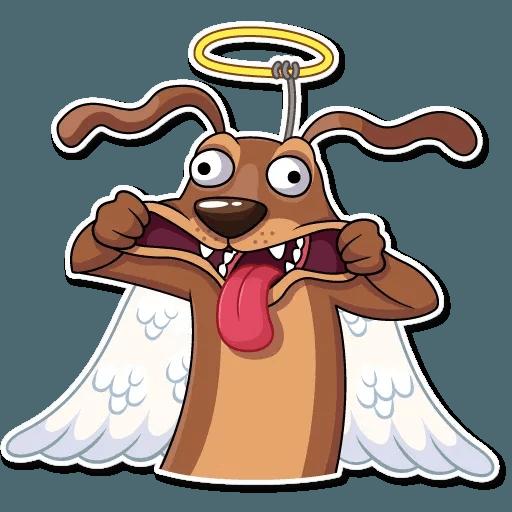 Cupid Dog - Sticker 19