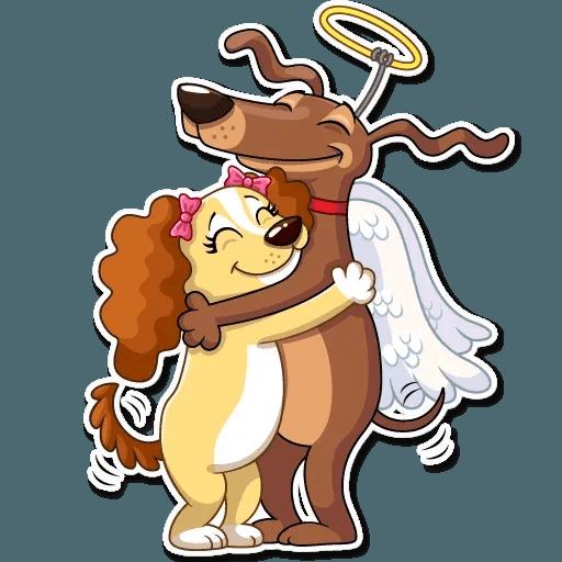 Cupid Dog - Sticker 18
