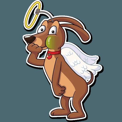 Cupid Dog - Sticker 9