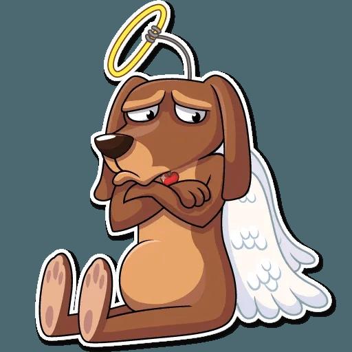 Cupid Dog - Sticker 7