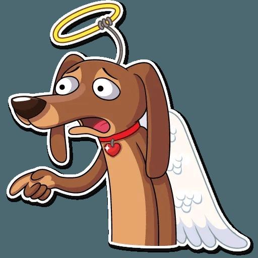Cupid Dog - Sticker 17