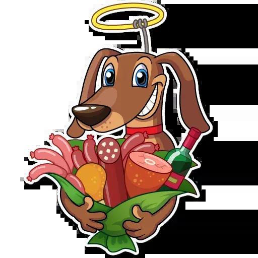 Cupid Dog - Sticker 8