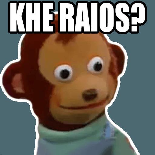 Pedro el mono - Sticker 6