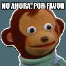 Pedro el mono - Tray Sticker