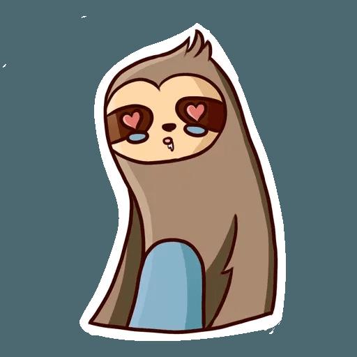 Ленивец - Sticker 11