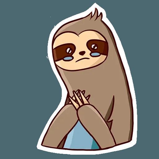 Ленивец - Sticker 21