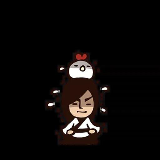 武林中二!之有刺客 - Sticker 8