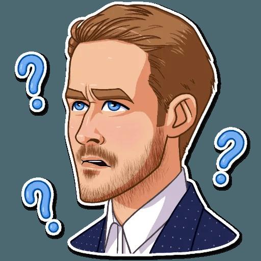 Ryan Gosling - Sticker 6