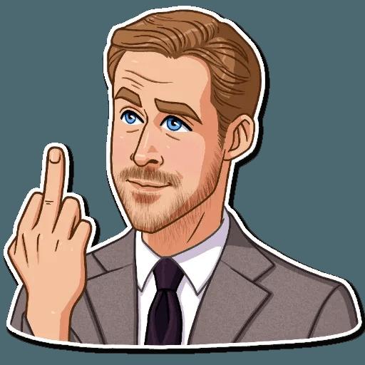 Ryan Gosling - Sticker 19